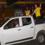 UBAITABA: SANDRO REGIS E BEBETO GALVÃO PARTICIPAM DE CARREATA