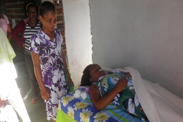 A jovem morreu de repente em sua residencia.