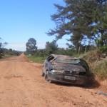 MARAÚ: GOL CAPOTA NA BR-030 E DEIXA 03 FERIDOS