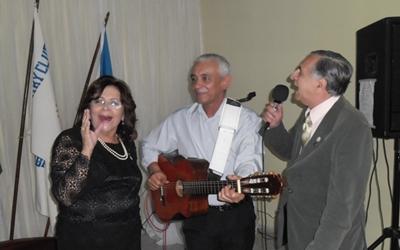 A Drª Sonia fez dupla com João Otávio