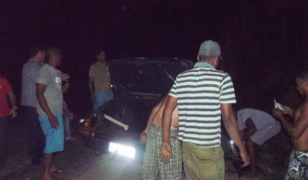 Netinho foi socorrido e levado para o hospital