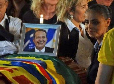 Membros do PSB, sigla do presidenciável enterrado neste domingo (17) Eduardo Campos, irão se reunir na manhã desta segunda-feira (18) com a viúva Renata Campos sobre a situação da vaga de vice