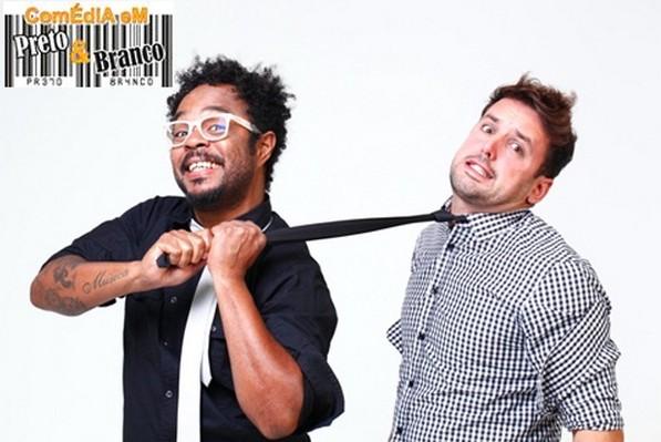 """Comédia em Preto e Branco"""" este é o nome show de humor que vem conquistando a crítica e o público"""