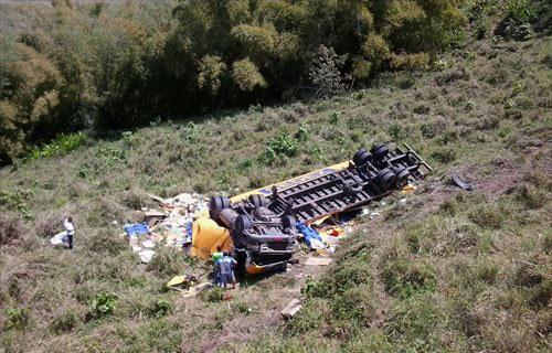 Morreram no local o motorista Joelito Vieira Gonçalves e Elivelton Rodrigues, que era passageiro no veículo