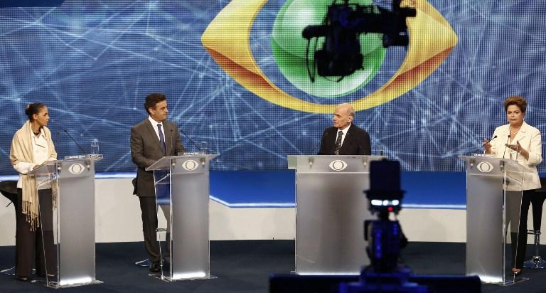 Os candidatos mostraram suas propostas e foram sabatinados durante entrevista