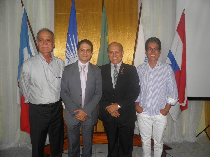 Mário Lordêlo, Márcio Magalhães, Kekede e Carlos Souza (Carlos Moda)