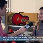 FILHA DE JOELMA DIZ QUE A MÃE NÃO DÁ ATENÇÃO NEM AJUDA FINANCEIRA