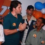 LUIZ ARGOLO INAUGURA COMITÊ ELEITORAL EM IPIAÚ E DIZ QUE DEUS OPERA NO MANDATO DELE