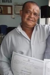 O vereador foi transferido para a cadeira publica de Barra Grande