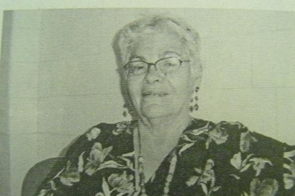 Dona Rosa estava doente e possou mal  apos ser levada para o hospital
