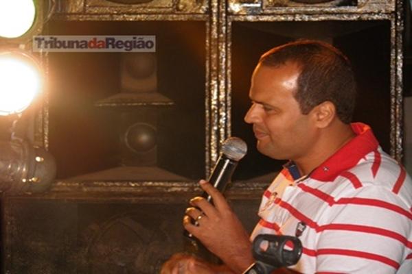 Marcos Liger durante a Audiência Publica, para apresentação da LOA
