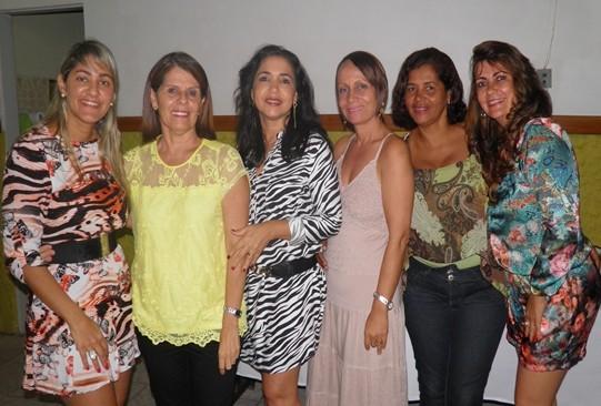 Fabrícia, Elied, Elma, Reijane, Norma e Luiza