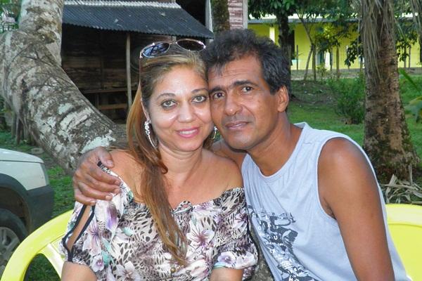 O casal Neto e Denise foi grande anfitrião