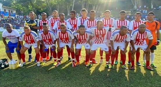 A Seleção de Ubaitaba fez o gol da vitória aos 15 minutos do 1º tempo