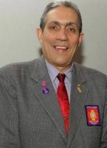 O governador do distrito 4550 de Rotary International, Danilo
