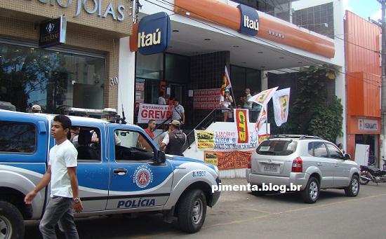 Bancários entram em greve na próxima terça (Foto Pimenta).