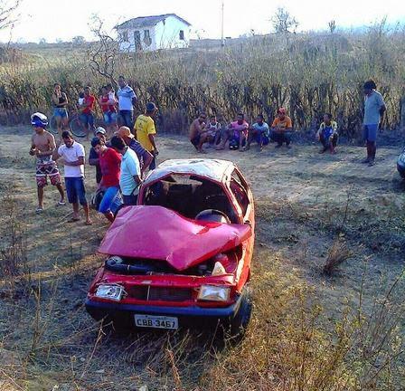 Acidente aconteceu na tarde de domingo (Foto: Itambé Agora)