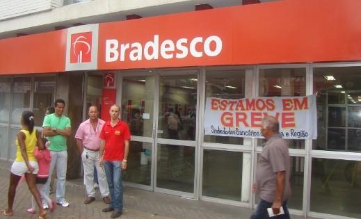 Greve dos bancários começou no dia 30 (Foto Pimenta/Arquivo).