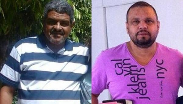 Os dois vieram para Teixeira de Freitas, cidade próxima a Nova Viçosa, no começo do mês a trabalho