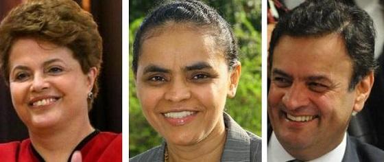 Dilma ultrapassa Marina nas pesquisa do Vox Populi