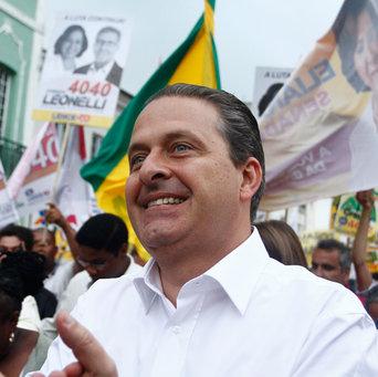 Eduardo Campos morreu em acidente  aéreo