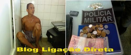 A policia recapturou o marginal e vai devolver à cadeia de Ibirapaitanga