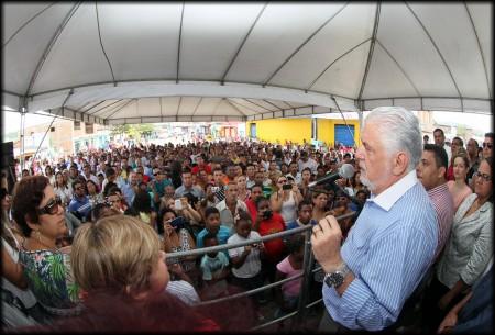 Wagner ressalta realizações de seu gestão (Foto: Valdir Santos/Ubatã Notícias)