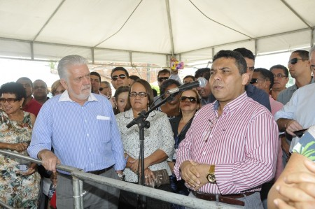 Sapão fala em realização de um sonho (Foto: Valdir Santos/Ubatã Notícias)
