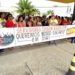 SERVIDORES DA PREFEITURA DE ITABUNA PARALISAM ATIVIDADES POR SALÁRIOS ATRASADOS