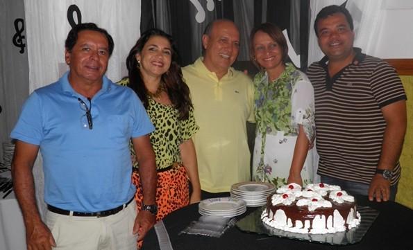 Os aniversariantes Almiro (dia 07), Luciano (dia 23), Kekde, (Dia 24), Reijane (dia 30) e Elma foi no dia 24 de setembro