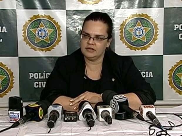 A Delegada Tatiane Damaris morreu estrangulada