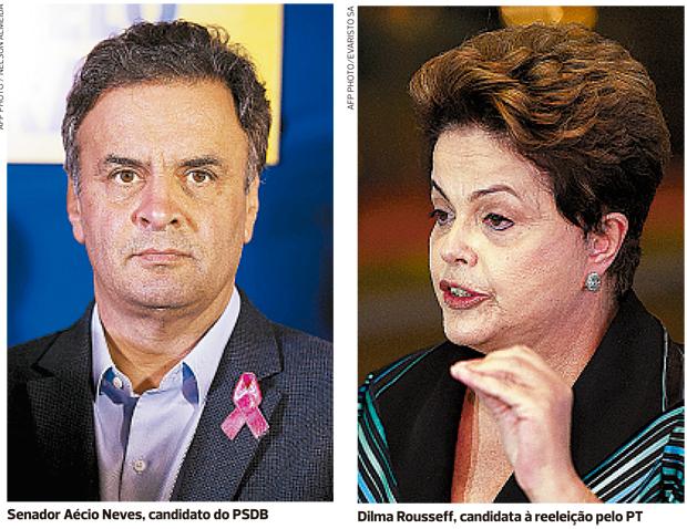 Aécio conta com Neto para alcançar Dilma, que tem apoio de Wagner