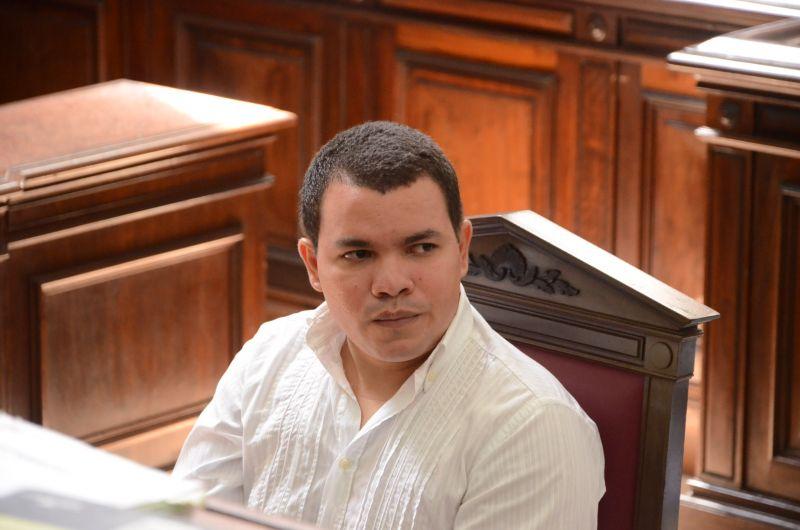 O réu confesso,  Jardel de Souza contou detalhes de como assassinou a namorada