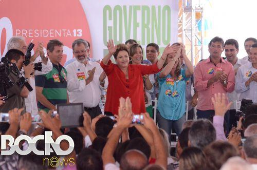A candidata encontrou com lideranças políticas, visitou o Memorial  Irmã Dulce e subiu a Colina Sagrada  acompanhada por centenas de baianos
