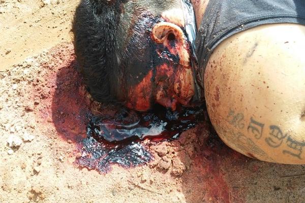 Fábio morreu com um tiro na cabela disparado de perto