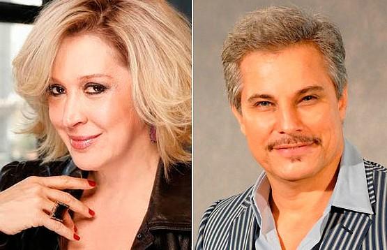 Edson Celulari e Claudia Raia voltam a trabalhar juntos