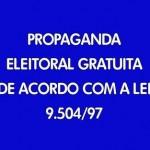 HORÁRIO ELEITORAL GRATUITO NO RÁDIO E NA TV TERMINA HOJE