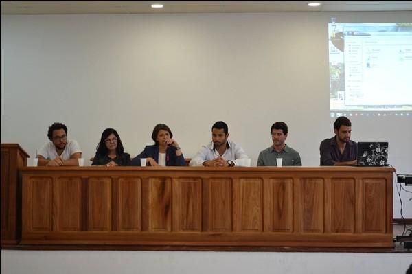 Na foto a mesa de abertura do seminário - Foto: Matheus Kist