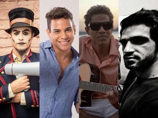 As bandas Natiruts, Teatro Mágico, Scambo e o cantor Battata se apresentam no dia 25 de outubro