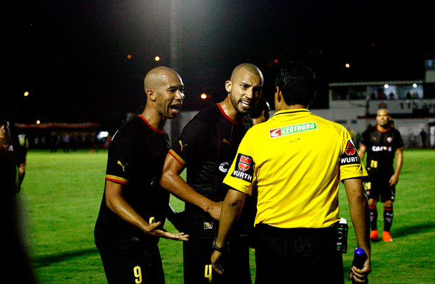 O torcedor acreditou e foi ao Barradão, mas o Nacional jogou água no chope rubro-negro