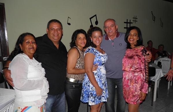 Silvino Cerqueira e família marcaram presença na festa