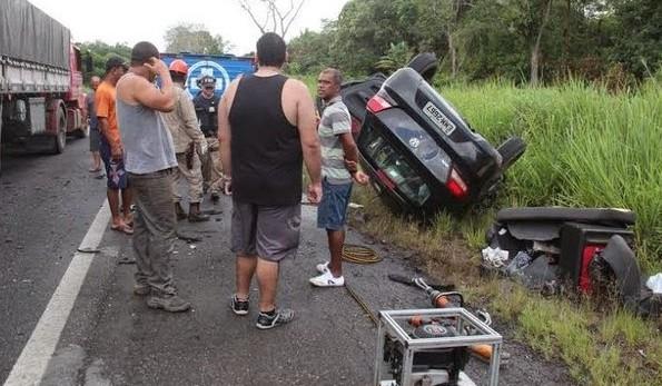 O acidente aconteceu no trecho que liga Itabuna a Buerarema