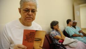 Thompson Andrade, que  teve câncer de pele, diz que mantém a vigilância (Foto: Fernando Frazão/Agência Brasil)
