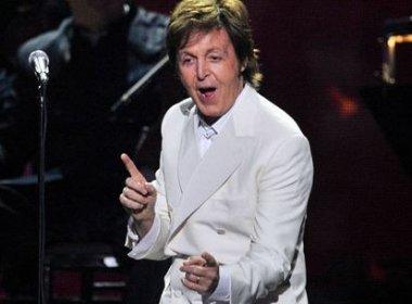 O cantor Paul McCartney apresenta uma série de shows no Brasil da turnê
