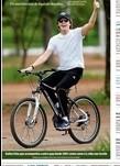 O astro aproveitou o domingo para pedalar em Brasília