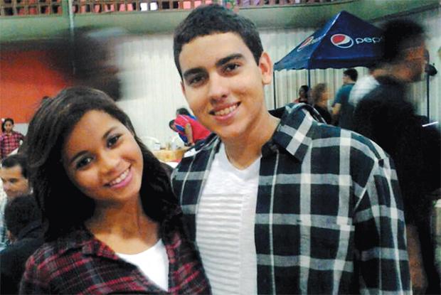 Rodrigo Costa Magalhães e  Gabriella de Jesus Santos (Foto: Reprodução)