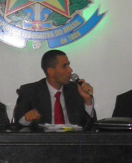 O trabalho desenvolvido pelo vereador Ricardo foi reconhecido pelos colegas