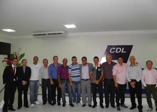 Atual diretoria da  CDL de Ubaitaba e Aurelino Leal