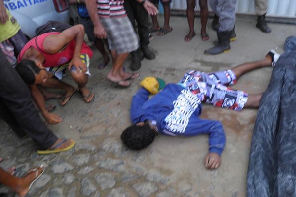 Segundo informações a vítima residia no Bairro São Cosme