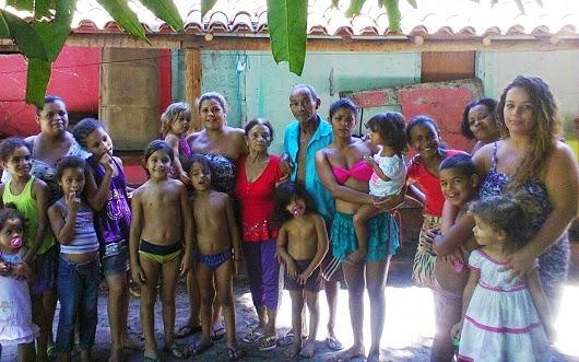 A família de ipiauenses que habita em um pequeno sítio há mais de 50 anos, em Barra Grande